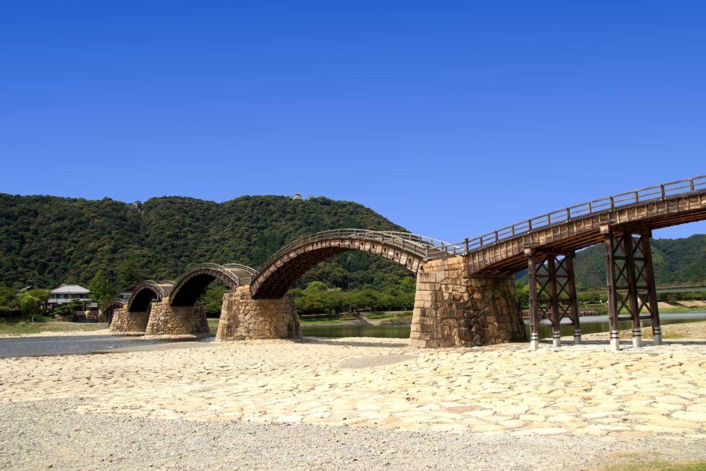 岩国市の錦帯橋